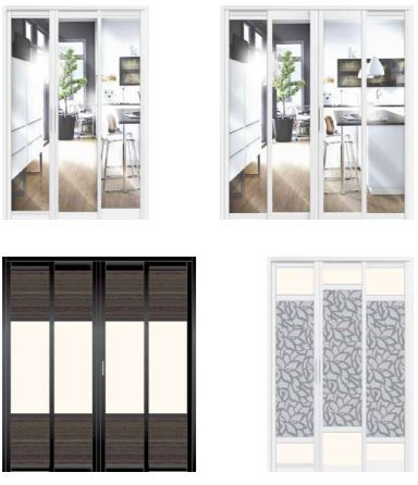 supreme door slide and swing door divider