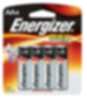4 AA battery to be used for Yal 424 digital lock