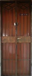 Original HDB mild steel gate