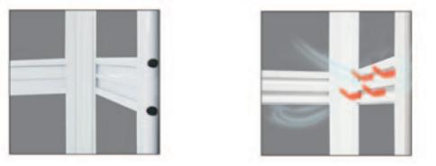 Designer bifold door singapore handle | Designer toilet door handle