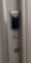 Yale 424 digital lock install on main door with long handle bar in Singapore