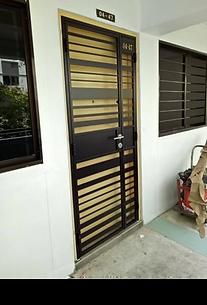 Mild Steel Gate Metal Plate Design HH 512