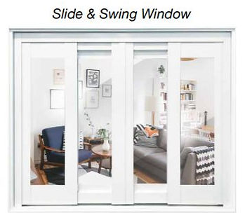supreme slide and swing window