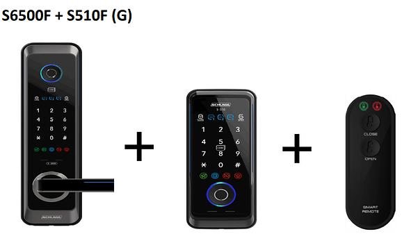 Schlage S6500F +S510F (G) Digital Lock B