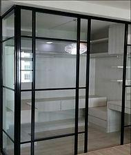 sliding door with design.JPG