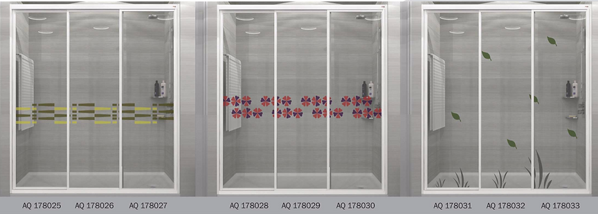 design panel aluminium shower screen Singapore latest design