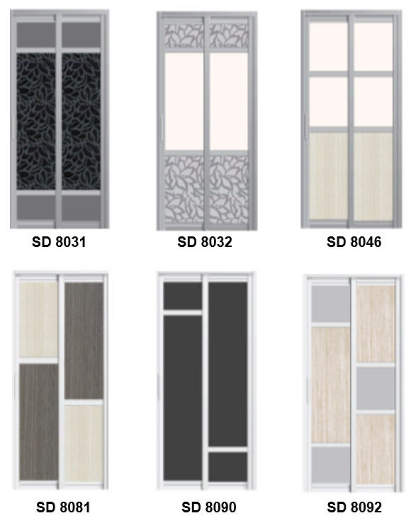 Slide and Swing Door Best Seller Design