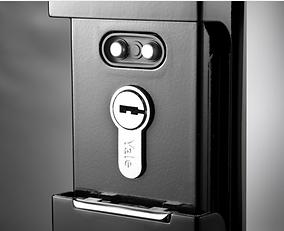Yale YMF 40 digital lock has mechanical back up key| Yale 40 digital lock can supply with emergency power using standard 9V battery