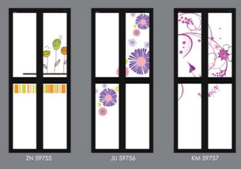 Pastel Colour Bifold Door Design | Toilet Door Singapore