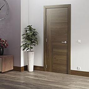 fire rated door Singapore | veneer fire rated door sinapore walnut design