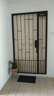 Trendy Mild Steel Gate Design HH66