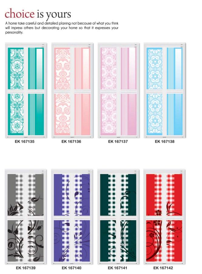 Wall paper Design Bifold | Toilet Door Singapore