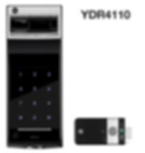 Yale 4110 digital lock | Yale 4110 black colour | Yale digital lock in Singapore