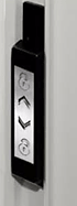Zinc lock set for premium bifold door singapore
