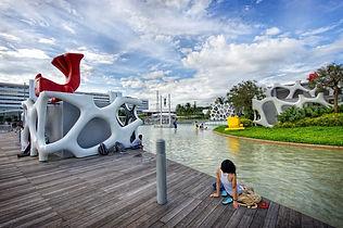 Skypark at vivo city shopping mall Singa