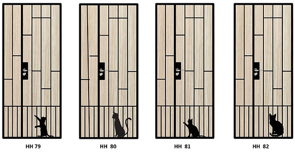 mild steel gate with cat silhouette 2.JP