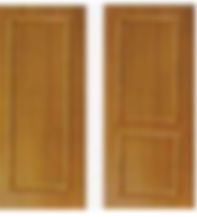 Wooden trimming fire rated door that is not suitable to install Yale 424 digital lock due to uneven surface