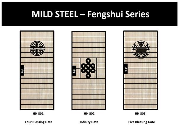 Fengshui Mild Steel Gate Singapore