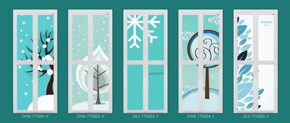 Winter Theme Bifold Door Design in Singapore Home 2017