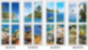 ocean theme premium bifold door designs singapore