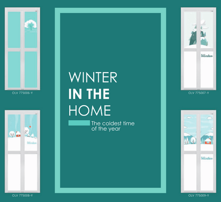 Bring Winter To Your Home In Singapore With Brand New Winter Theme Bifold Door