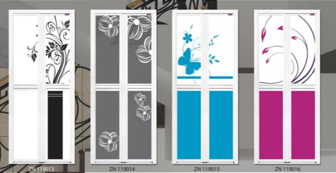 Complementary Contrast Bifold Door Singapore | Complementary Contrast Design Toilet Door Singapore