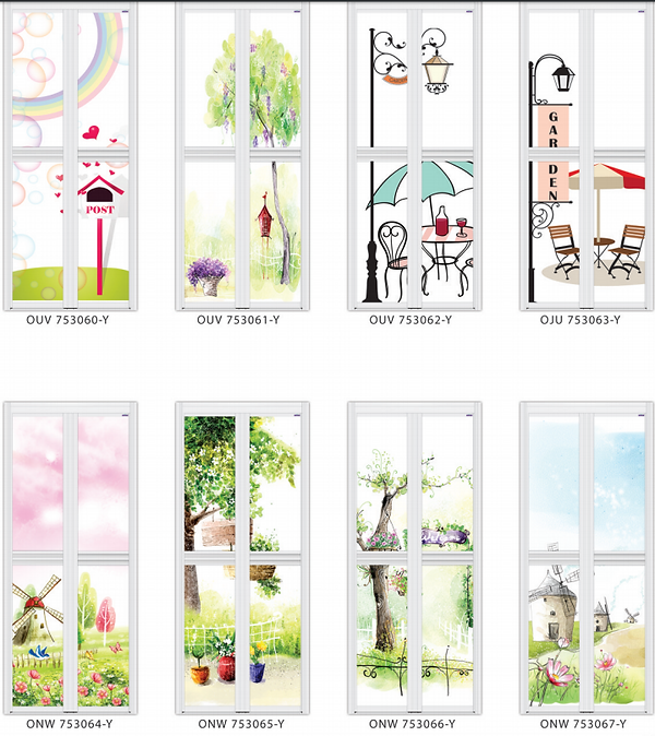 Designer bifol door garden design | Designer toilet door country side design