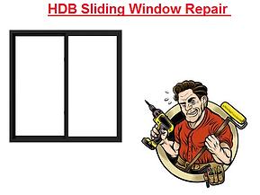 HDB Sliding Window Repair in Singapre
