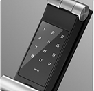 Yale ymf 40 digital lock has a smart key pad that only light up when activate with your palm | yale 40 digital lock has smart keypad