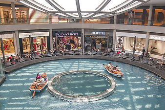 Sampan Ride at Marina Bay Sands Shopping