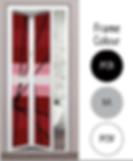 Premium Bifold Door Frame Colour For Bathroom in Singapore