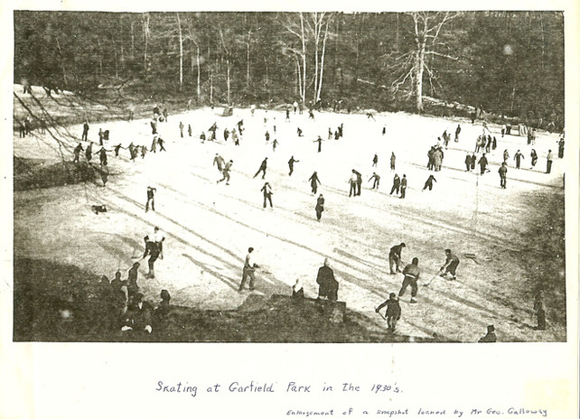 Skating at Garfield Park in the 1930s.jp