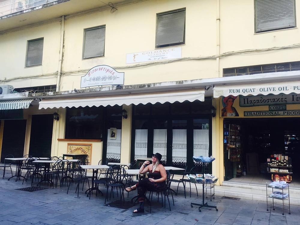 Corfu Greece vacation