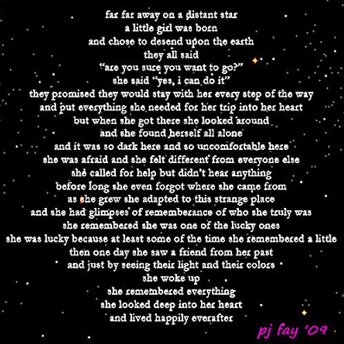 Pj Fay far far away poem
