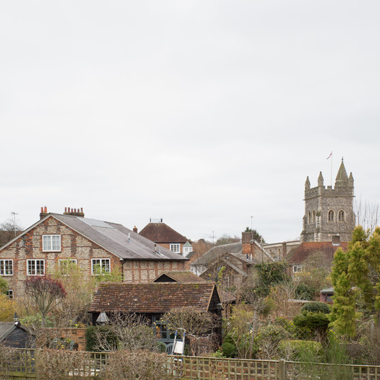 View over Amersham from Miss Day's