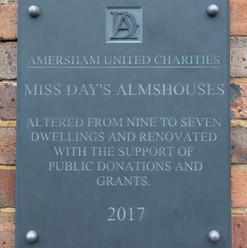 Miss Day's plaque