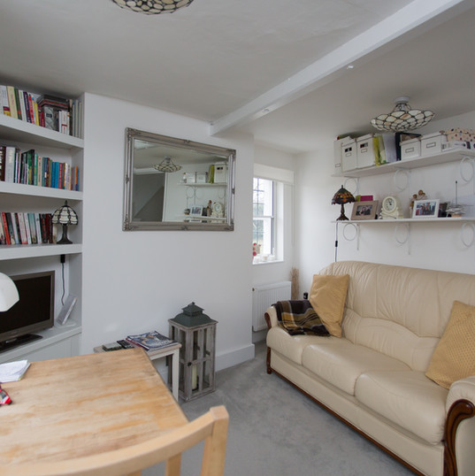 Miss Day's cottage interior