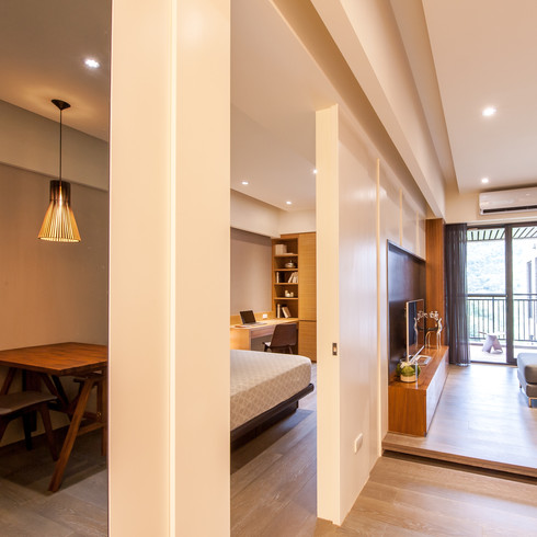 The Tian's Residence / 昇陽田田