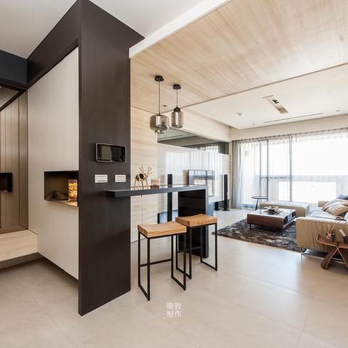The Li's Residence / 蒔繪李宅