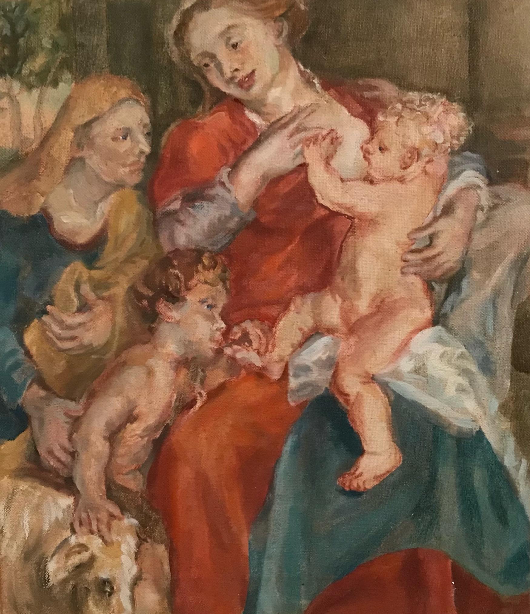 Madonna ( Rubens Copy )