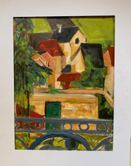 """""""Room with a View"""" (after Cezanne)"""