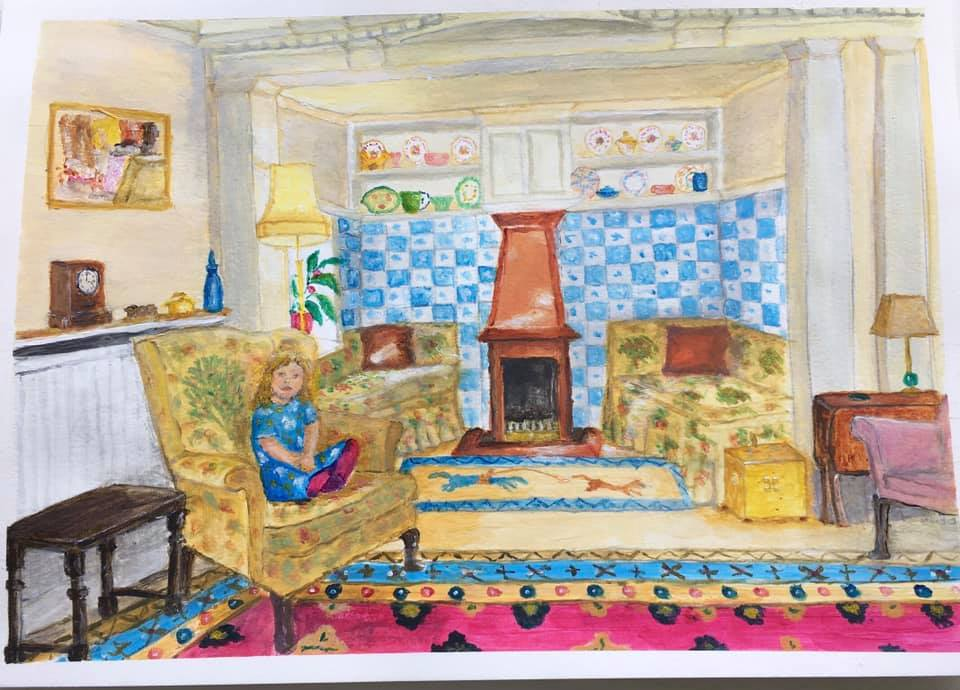 Dorothy in the Sitting Room