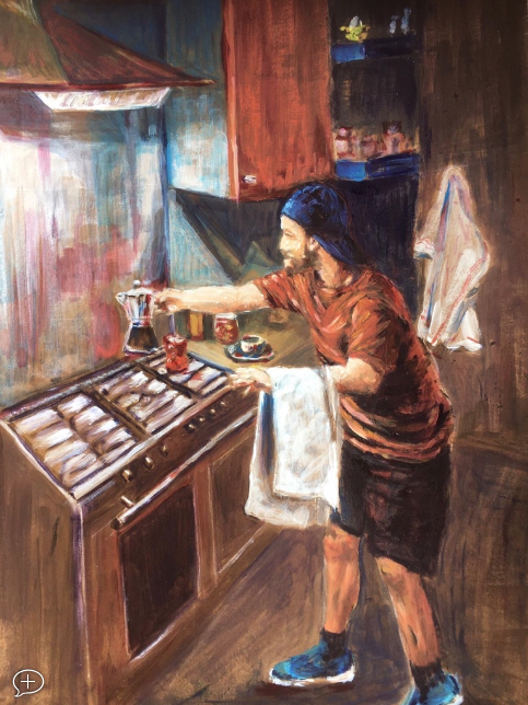 The Barrista - Vermeer Transmutation