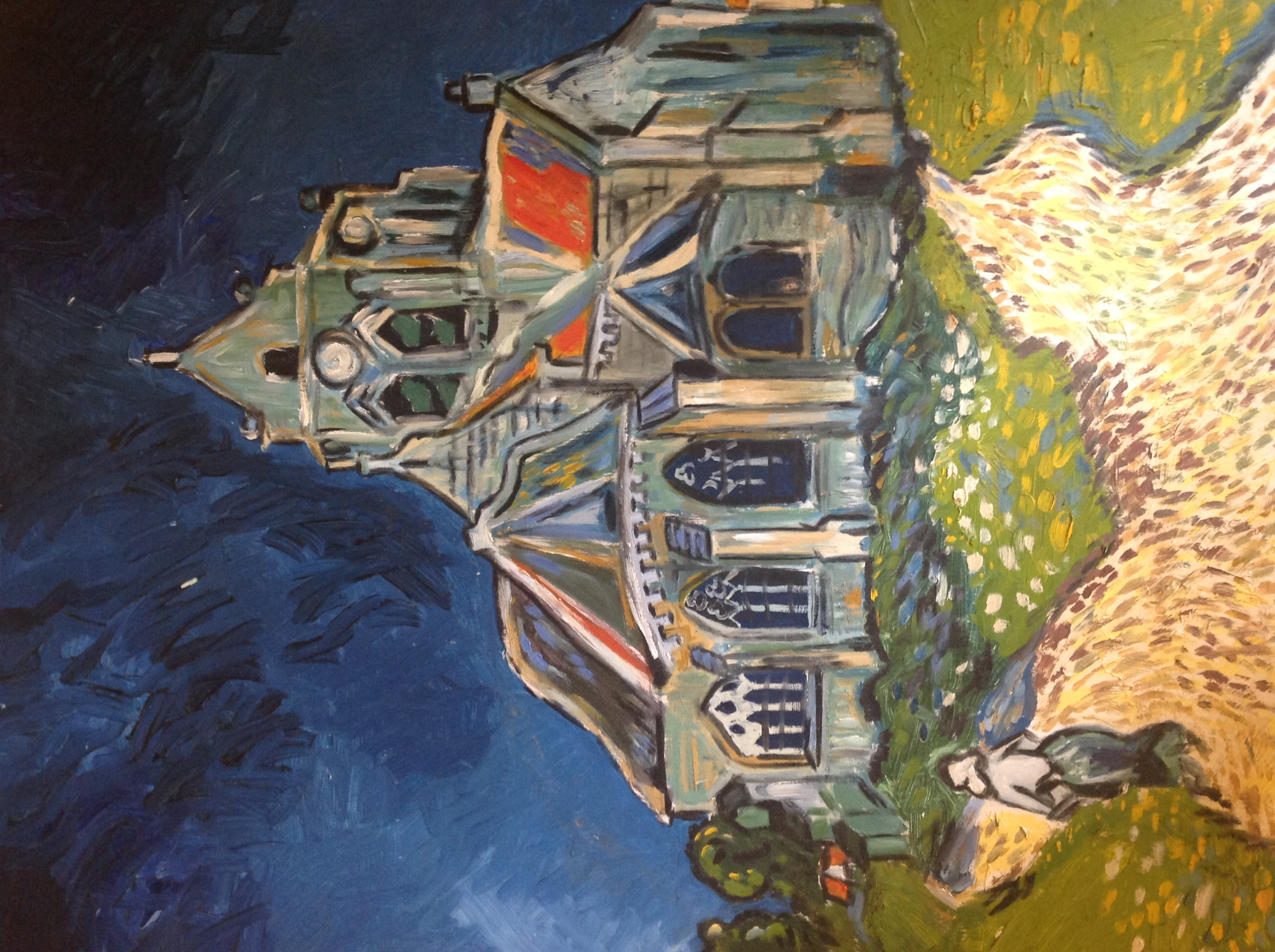 The Church at Auvers Vincent Van Gogh