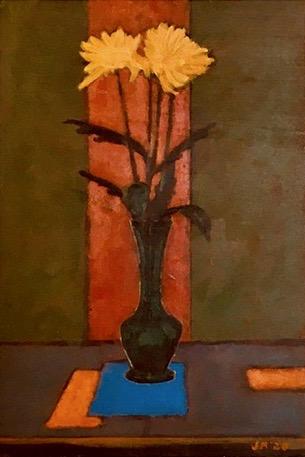 Viridian Vase