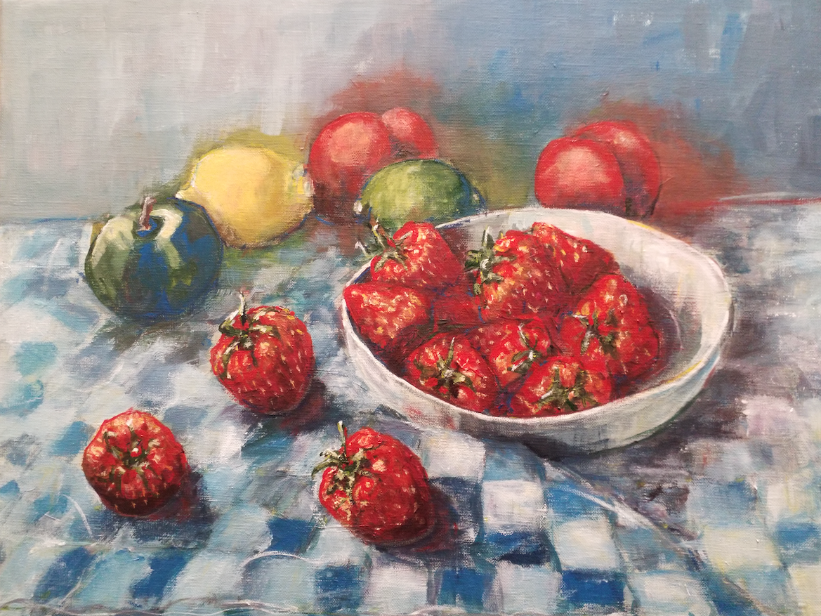 Still Life wth Strawberries