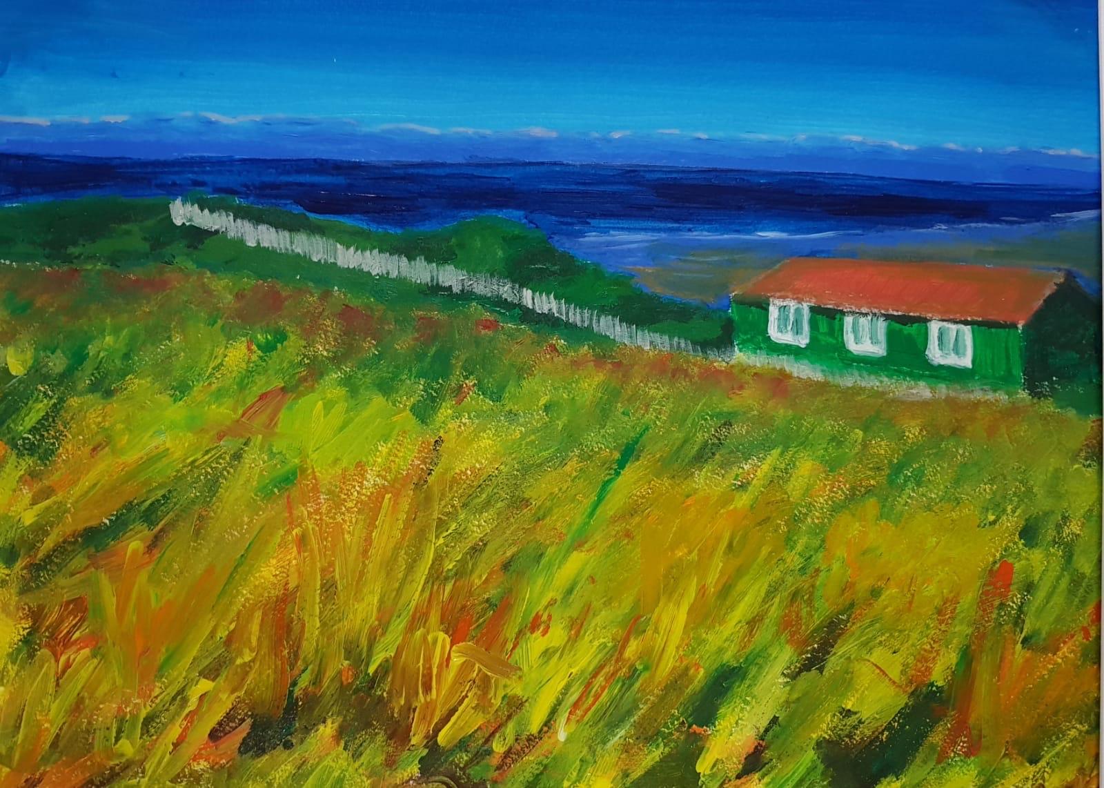 A Hut on Hilbre Island