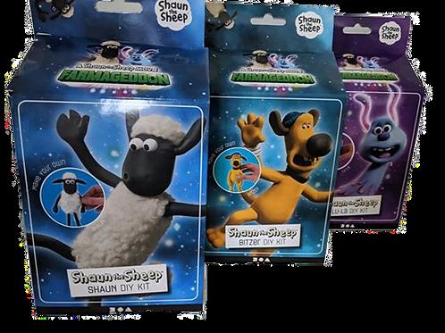 Shaun the Sheep  - Farmageddon Set of 3 Kits