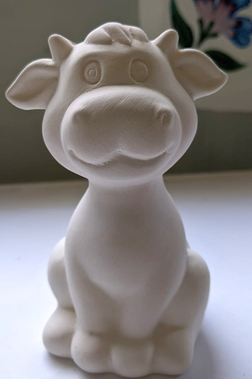 £7.50  COW ceramic only