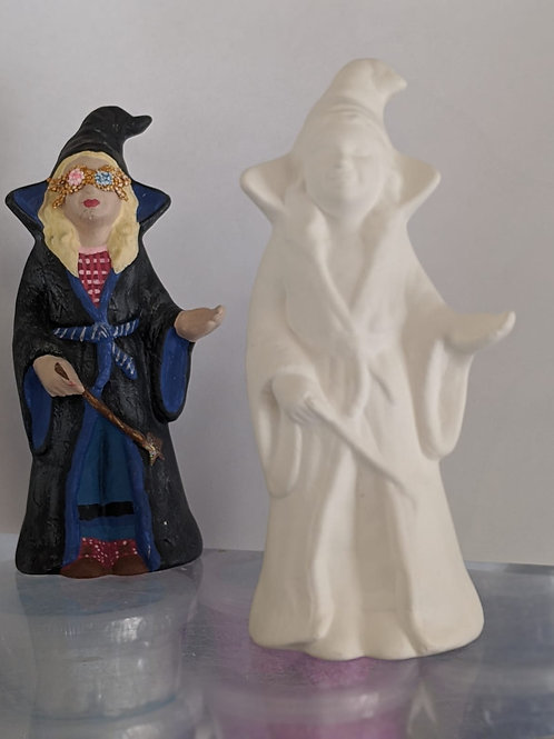 Girl WIZARD ceramic only